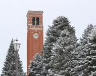 Campanile in Winter