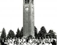 Guild of Carillonneurs in North America Congress at the UNI Campanile in 1980